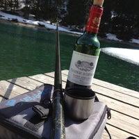 Photo taken at Lac du Boréon by Sam A. on 4/11/2013