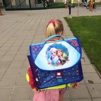 Photo taken at Vrije Basisschool Langemark by Jolien V. on 9/1/2015