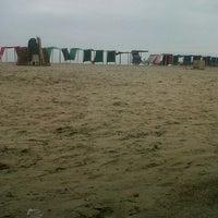 Photo taken at Playa de Canoa by Monse V. on 6/7/2013