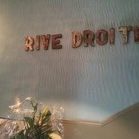 Photo taken at Rive Droite by Mélanie B. on 9/3/2016