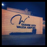 Photo taken at Gdańsk Lech Wałęsa Airport (GDN) by Bartek K. on 4/23/2013