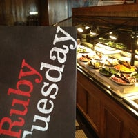 Photo taken at Ruby Tuesday by Brian F. on 2/24/2013