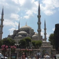 Photo taken at Sultanahmet Square by nur y. on 7/27/2013