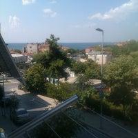 Photo taken at Ambarlı Meydan by Fatih D. on 8/23/2013