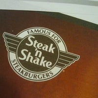 Photo taken at Steak 'n Shake by Brittany S. on 2/27/2013