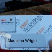 Photo taken at TEDxVeniceBeach by Madeline W. on 9/15/2013