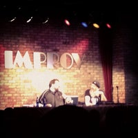 Photo taken at Improv Comedy Club and Dinner Theatre by Rocky D. on 3/27/2013