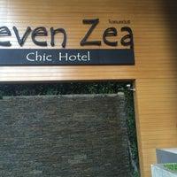 Photo taken at Seven Zea Chic Hotel by sora k. on 7/16/2016
