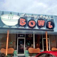 Photo taken at Flaming Amy's Bowl by Carly W. on 5/7/2013