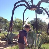 Photo taken at Mueller Spider Sculpture by Jeff M. on 10/8/2013