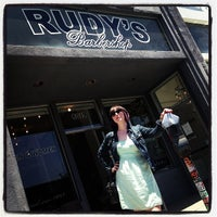 Photo taken at Rudy's Barbershop by Jennifer M. on 5/28/2013