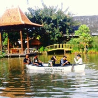 Photo taken at Saung Talaga by Niki D. G. on 5/18/2013