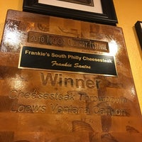 Photo taken at Frankie's South Philly Cheesesteaks and Hoagies by Andolini C. on 1/12/2017
