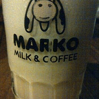 Photo taken at Marko Milk and Coffee by Galisa D. on 4/22/2013