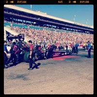 Photo taken at The Strip at Las Vegas Motor Speedway by Christie M. on 10/27/2013