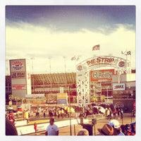 Photo taken at The Strip at Las Vegas Motor Speedway by Christie M. on 4/7/2013