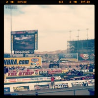 Foto tirada no(a) The Strip at Las Vegas Motor Speedway por Christie M. em 4/6/2013