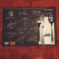 Photo taken at Max's Restaurant, Hilton Residence Abu Dhabi by Rania I. on 9/12/2014