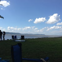 Photo taken at Dobbs Ferry Waterfront Park by Juliana S. on 7/4/2013