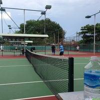 Photo taken at K99 Tennis Court by Binh P. on 6/9/2013
