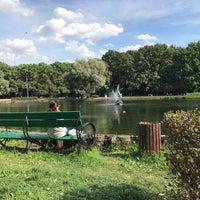 Photo taken at Большой пруд by Arthur C. on 8/12/2018