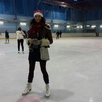 Photo taken at Ледовая Арена by Sofia Z. on 1/6/2014
