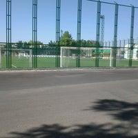 Photo taken at Футбольное поле @ Ташсельмаш by Tatti D. on 6/19/2013