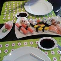 Photo taken at Fushi Sushi by Ibrahim A. on 4/21/2013