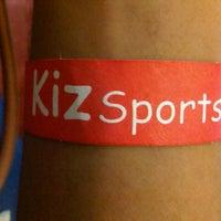 Photo taken at Kizsports & Gym by Amir S. on 1/25/2013