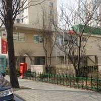 Photo taken at 압구정 현대아파트 우체국 by simply LANG™ on 3/18/2014