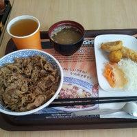 Photo taken at Yoshinoya (吉野家) by Romy S. on 9/21/2012