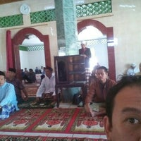 Photo taken at Masjid Harunarrasyid by Romy S. on 7/24/2015