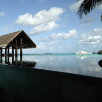 Photo taken at One & Only Reethi Rah by Mohammed A. on 8/9/2013