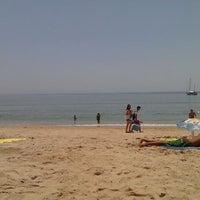 Photo taken at Praia dos Amigos by Raimundis M. on 6/26/2013