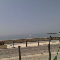 Photo taken at Praia dos Amigos by Raimundis M. on 6/28/2013
