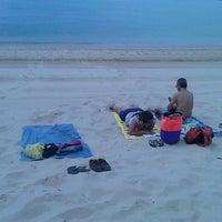 Photo taken at Praia dos Amigos by Raimundis M. on 5/6/2013