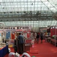 Photo taken at yöresel lezzetler fuarı Antalya Campiramit by Hırçın P. on 9/18/2015