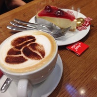 Photo taken at Costa Coffee by New S. on 2/14/2015