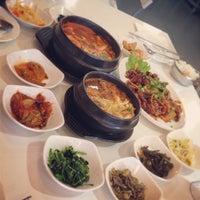 Photo taken at Hanwoori Korean Restaurant by Heni D. on 12/29/2012