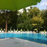Photo taken at tck yüzme havuzu by Tuğçe J. on 7/18/2013
