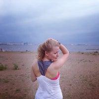 Photo taken at Пляж в Парке 300-летия by Жоржик К. on 6/30/2013