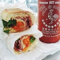 Photo taken at Saigon Vietnamese Sandwich Deli by Indulgent Eats on 6/11/2014