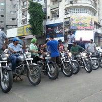 Photo taken at Sayaji Gunj by Manthan S. on 8/15/2013