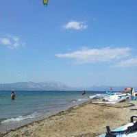 Photo taken at Surf Point Χαλκουτσι by Tassos P. on 6/24/2013