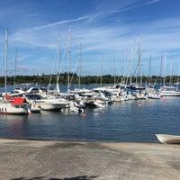 Photo taken at Sandvik Gästhamn by Mikael S. on 7/27/2016