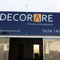 Photo taken at Decorare Móveis Planejados by Jeferson M. on 2/8/2014