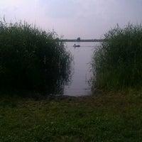 Photo taken at живительное озеро в рыбаках by Sergey K. on 6/27/2013