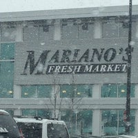 Photo taken at Mariano's Fresh Market by Melissa C. on 3/5/2013