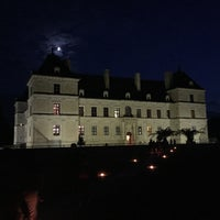 Photo taken at Chateau D'ancy Le Franc by Fabio G. on 8/10/2016
