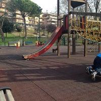 Photo taken at Parco della Cecchina by Fabio G. on 1/12/2014